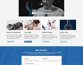 #24 for Homepage Mockup for Chiropractor by WebCraft111