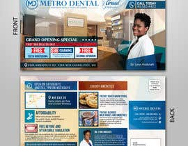 #18 for Design a direct mail post card for a new dental office by rafaislam