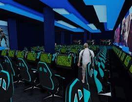 Nro 296 kilpailuun The Eagles gaming center (branding +interior design +  banner exterior design) käyttäjältä aliwafaafif