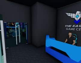 Nro 299 kilpailuun The Eagles gaming center (branding +interior design +  banner exterior design) käyttäjältä aliwafaafif