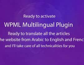nº 3 pour Add WPML Multilingual Plugin to WordPress Website par artiston