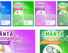 #13 para New design for labels por dinanassim22