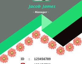 #10 for Create an ID template for employees by nobelbayazidahme
