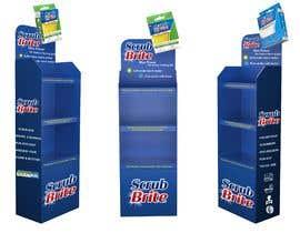 #45 para Cardboard Display Stand Design por jasonmir83