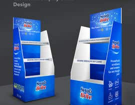 #38 for Cardboard Display Stand Design by claudiuddu