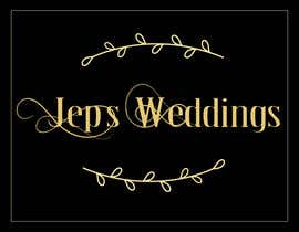 #52 for I need a logo for my business name Jeps Weddings af thevectorpie