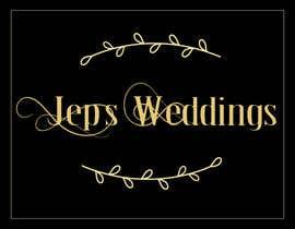 Nro 52 kilpailuun I need a logo for my business name Jeps Weddings käyttäjältä thevectorpie