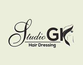 #36 for I have recently started my own hairdressing studio and I need a logo done up.  I would like to incorporate the name of the business into the logo somehow - GK Studio by Dashing18