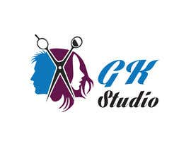 nº 32 pour I have recently started my own hairdressing studio and I need a logo done up.  I would like to incorporate the name of the business into the logo somehow - GK Studio par golammostofa6462
