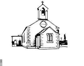 #40 for Draw an outline of this church in illustrator. by Dylanteoh