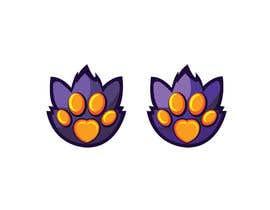 #733 для Design a cat paw logo от aktermasuma