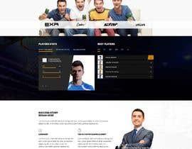 Nro 17 kilpailuun Build me a WordPress Website For Basketball team käyttäjältä jaswinder527