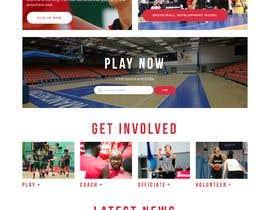 Nro 4 kilpailuun Build me a WordPress Website For Basketball team käyttäjältä jahangir505