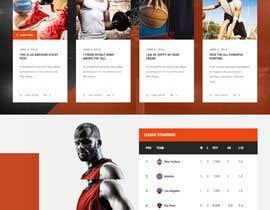 Nro 6 kilpailuun Build me a WordPress Website For Basketball team käyttäjältä DevRobinWork