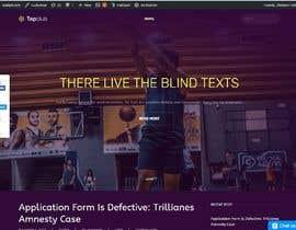 Nro 25 kilpailuun Build me a WordPress Website For Basketball team käyttäjältä talakph