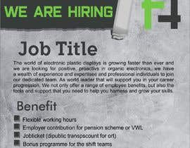 """#21 dla Post for """"We Are Hiring"""" - Ad For New Available job przez sawwardana15"""