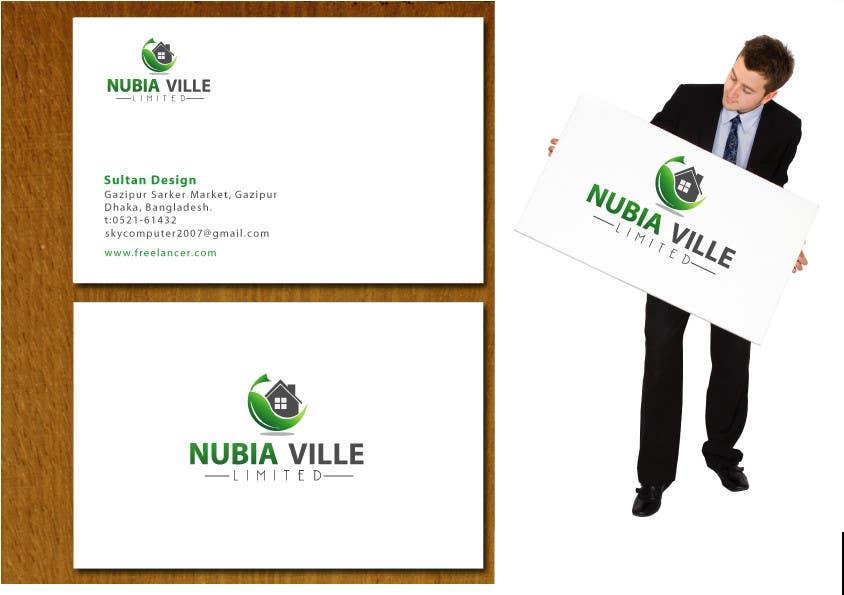 Kilpailutyö #70 kilpailussa Corporate Identity Design for Nubiaville