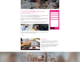 creator9님에 의한 design an awesome website design company homepage을(를) 위한 #7