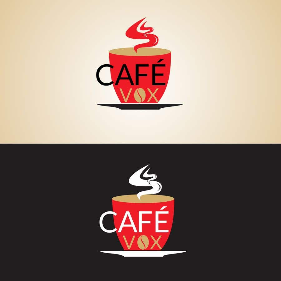 Konkurrenceindlæg #17 for Current logo attached..need a new logo...vox cafe is the name