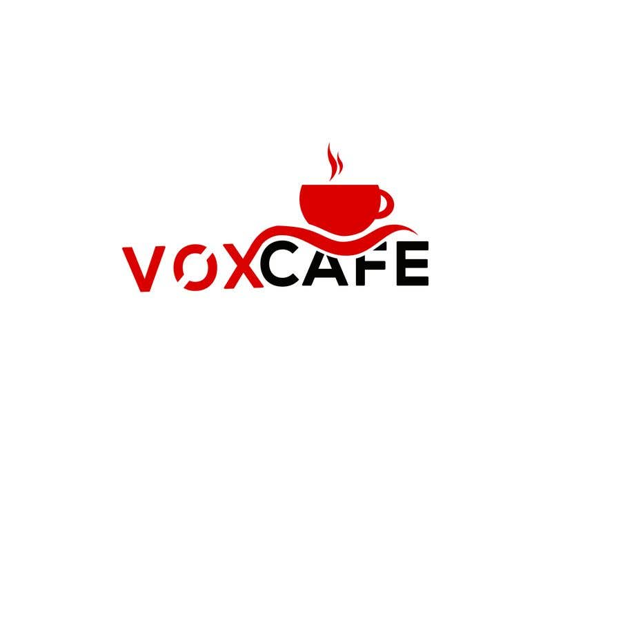 Konkurrenceindlæg #18 for Current logo attached..need a new logo...vox cafe is the name