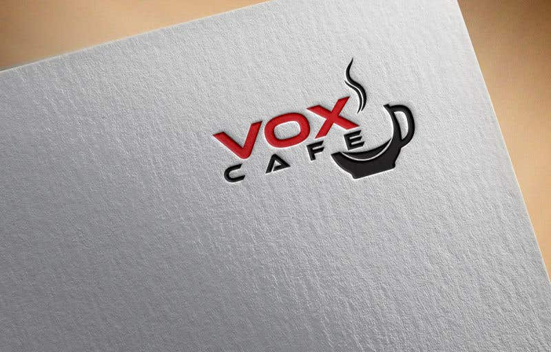 Konkurrenceindlæg #21 for Current logo attached..need a new logo...vox cafe is the name