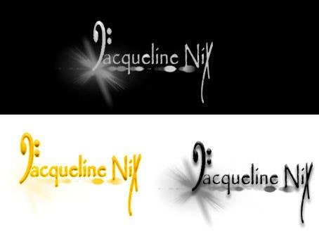 Penyertaan Peraduan #                                        73                                      untuk                                         Graphic Design LOGO of my NAME For a SINGER