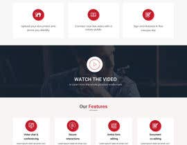 #9 for Website UI Design~ Clean Professional Simple by anusri1988