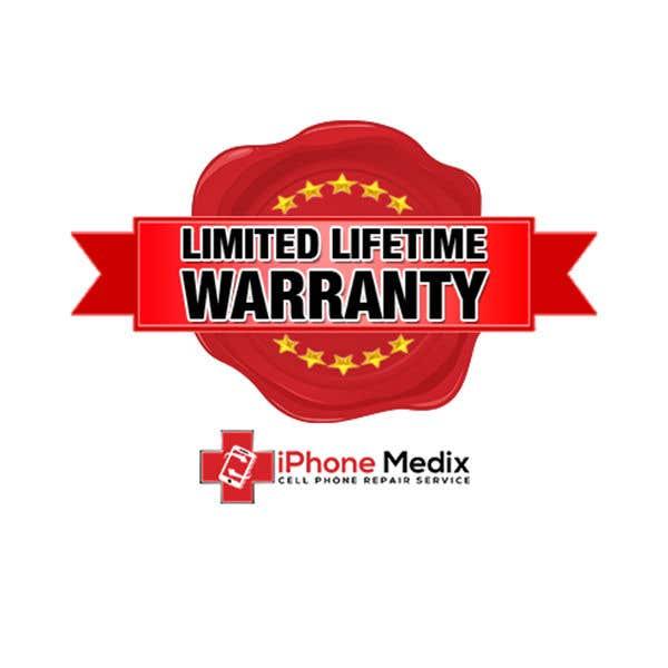Penyertaan Peraduan #12 untuk Limited Lifetime Warranty image design