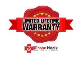 #12 untuk Limited Lifetime Warranty image design oleh Rajib024