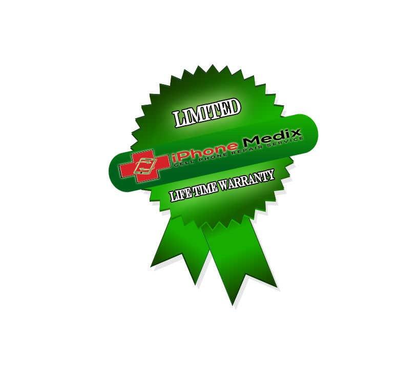 Penyertaan Peraduan #19 untuk Limited Lifetime Warranty image design