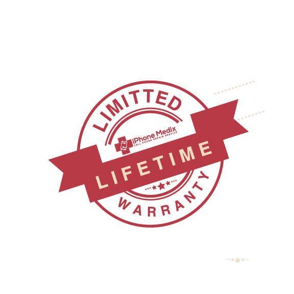 Penyertaan Peraduan #14 untuk Limited Lifetime Warranty image design