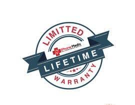 #15 untuk Limited Lifetime Warranty image design oleh MRawnik