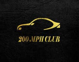 #20 για I need a logo for my instagram account my account my page revolves around exotic super cars! The page name is 200MPH Club από lazicvesnica