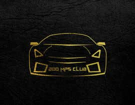 #17 untuk I need a logo for my instagram account my account my page revolves around exotic super cars! The page name is 200MPH Club oleh Onurcankayahan