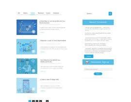 Nro 39 kilpailuun Design a website basis a design concept that's already in place. käyttäjältä ripafreelancer