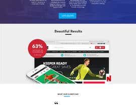 Nro 50 kilpailuun Design a website basis a design concept that's already in place. käyttäjältä brsherkhan