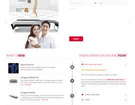 #1 for Design single page website for fitness center by anwarsolangi
