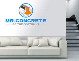 #41 for Mr Concrete of the Foothills Logo af ideaplus37