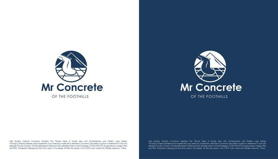 Konkurrenceindlæg #49 for Mr Concrete of the Foothills Logo