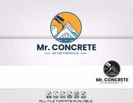 #44 for Mr Concrete of the Foothills Logo af alejandrorosario