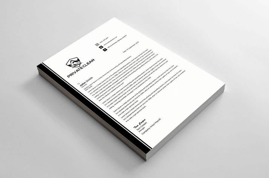 Konkurrenceindlæg #91 for create a letter head