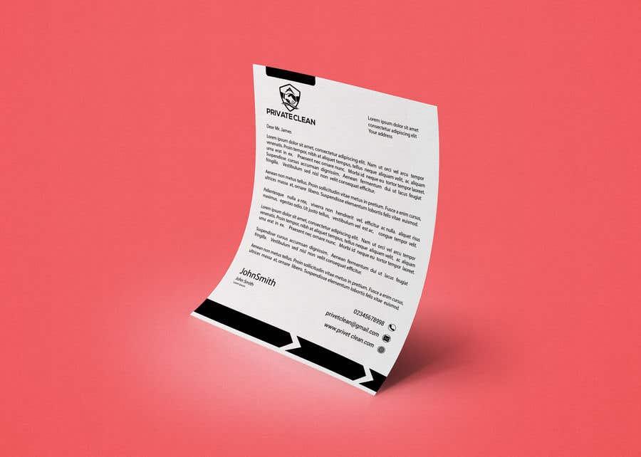 Inscrição nº 203 do Concurso para create a letter head