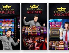 Nro 11 kilpailuun Design a Banner for Store Front & Doors (Casino Style) käyttäjältä syedanooshxaidi9