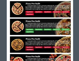 #10 for Design a Pizza Order Webpage by Mouneem