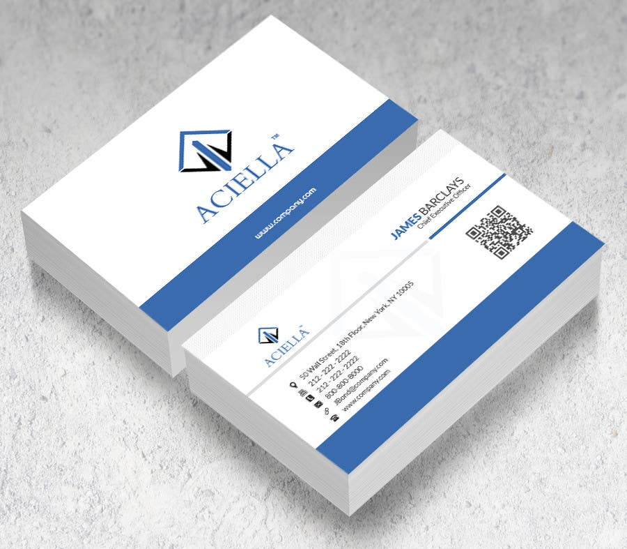 Entry 79 By Saif1432 For Design Some Business Cards For Finance