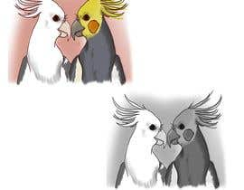 #8 for Draw me some adorable cockatiels af purpleexperts