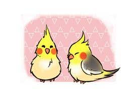 #11 for Draw me some adorable cockatiels af purpleexperts