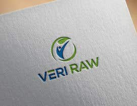 #52 untuk I need a logo design for my start up health nutrition brand Veri Raw oleh RashidaParvin01