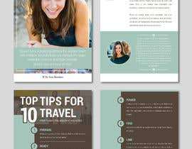 "#4 for Design PDF for ""TOP 10 TIPS FOR TRAVEL"" af AthurSinai"