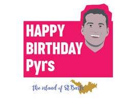 #29 dla Pyrs Birthday Logo przez mehediabir1